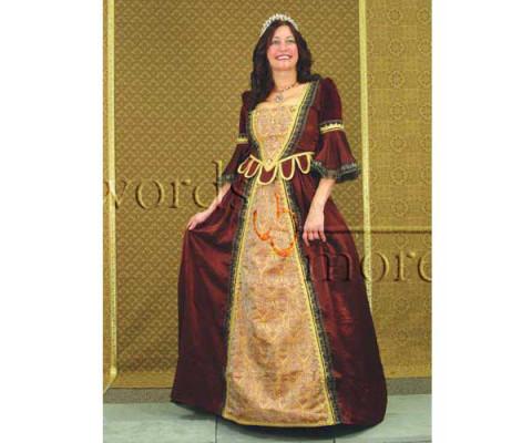 new concept 6fe75 4d7a6 Florentiner Kleid, rot, Größe L