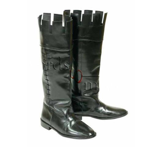 sports shoes df1c1 a3439 Lederstiefel, Größe 43