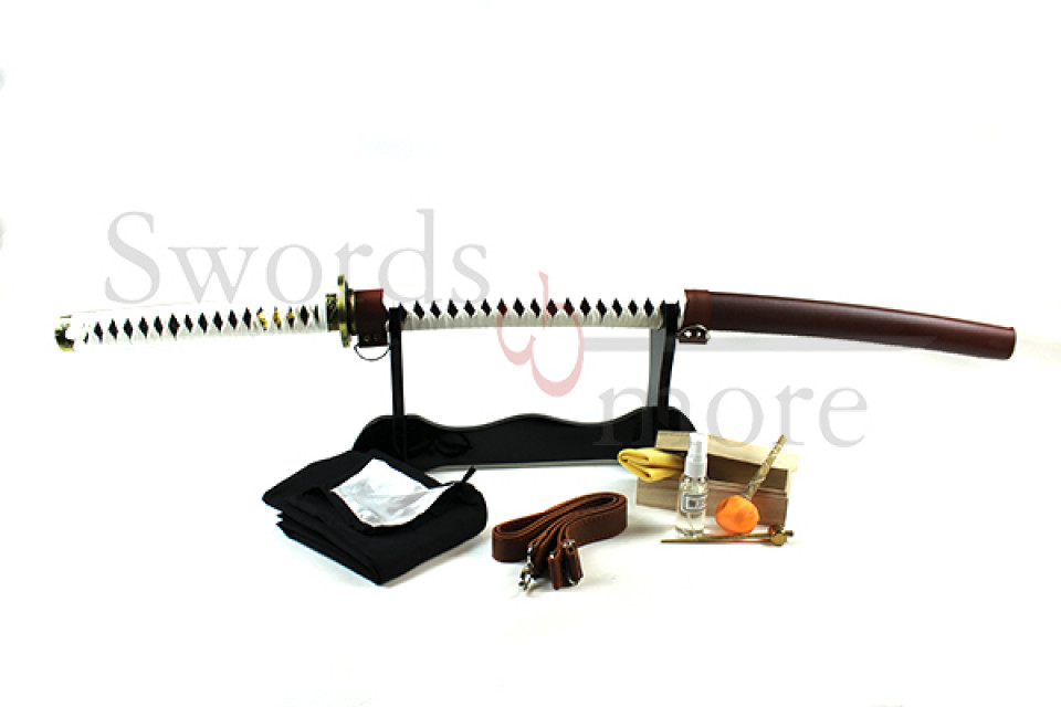 the walking dead katana handgeschmiedet gefaltet set. Black Bedroom Furniture Sets. Home Design Ideas