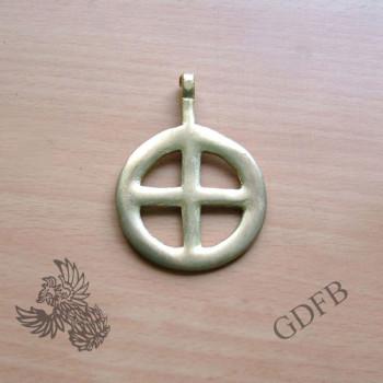 Celtic pendant with cross