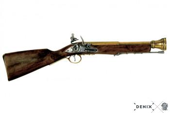 English Tromblon brass, 18th century