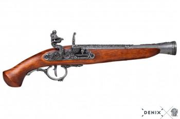 German flintlock pistol, 17th century