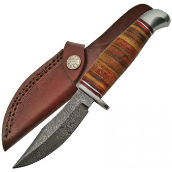 Stacked Leather Skinner