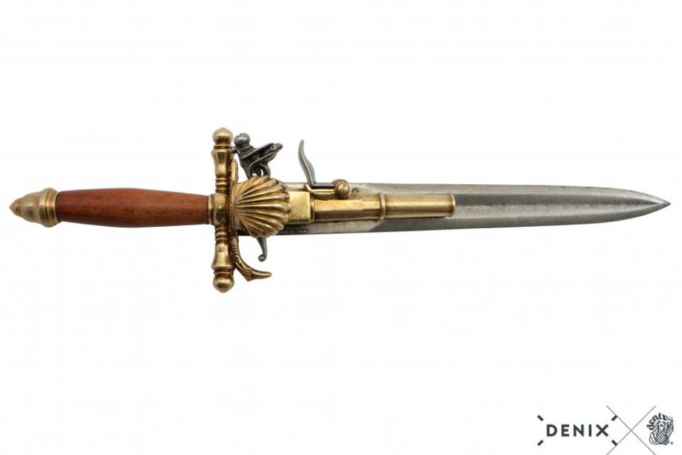 Flintlock Pistol Knife France 18th Century Assassin S Creed 4