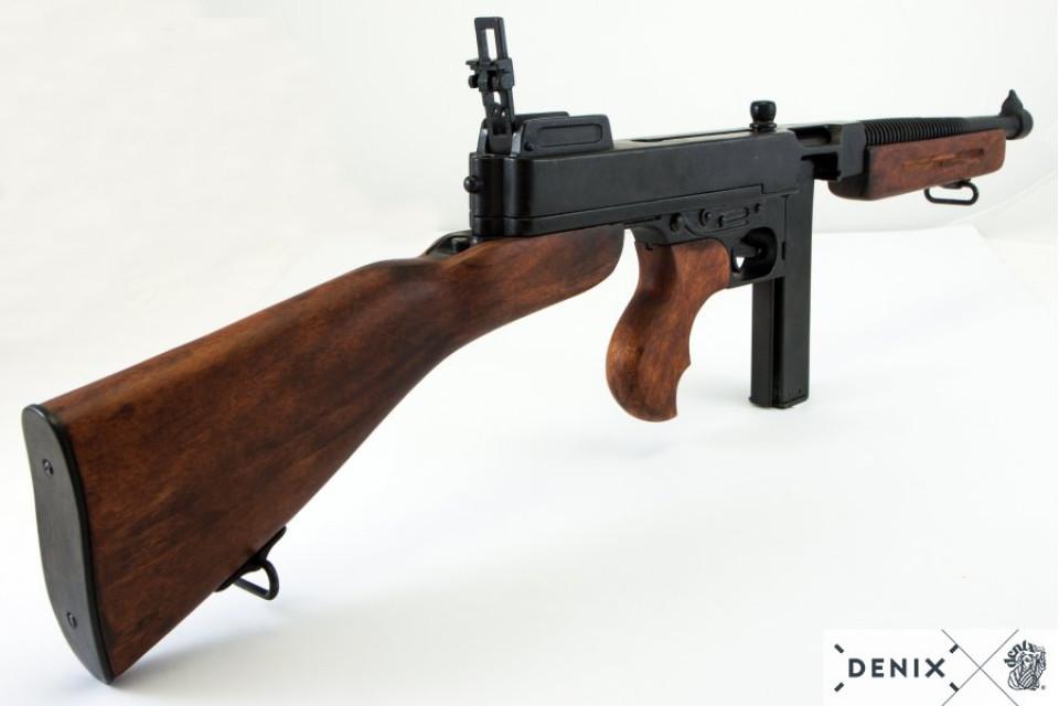 Thompson M1A1 Mafia MG with rod magazine, US 1928